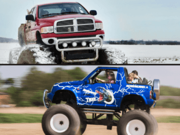 Zestaw Kids - Mini Monster Truck - Monster Truck