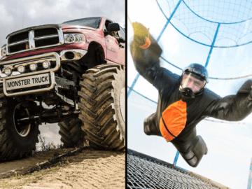 Zestaw Classic Aerotunel Monster Truck